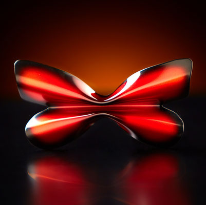 Metal Butterfly Bow Tie Agrias Claudina front
