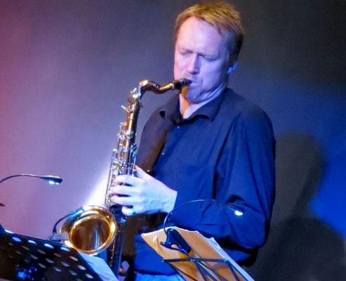 """Bernd """"Grossi"""" Grossmann (Saxophone)"""