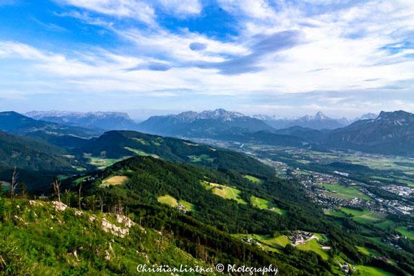 Blick in Richtung Tennengau