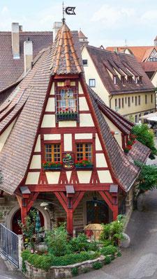 Rothenburg ob der Tauber Rundgang Stadtmauer