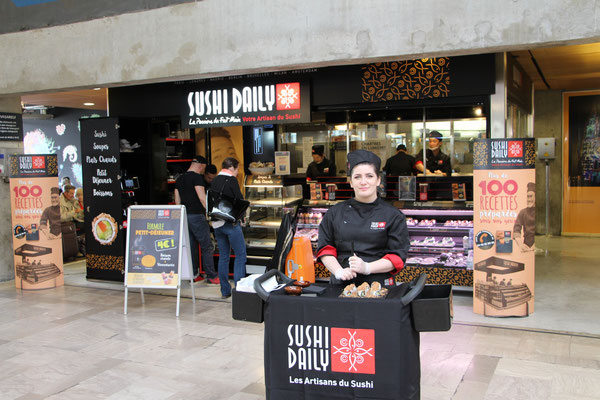 Daily Sushi Montparnasse
