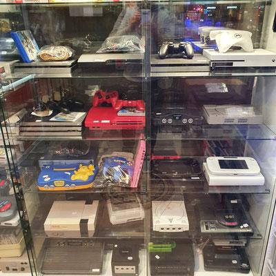 Gebrauchte Videospiel Konsolen von Atari bis Switch