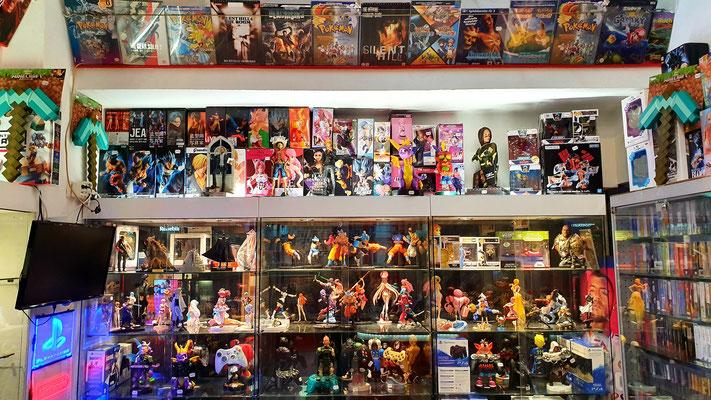Animanga-Figuren, Controller Halter, Merchandise, alles da.