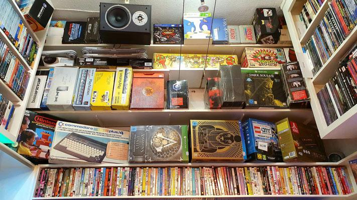 Diverse OVP-Konsolen und Sammlereditionen gibt es bei uns natürlich auch