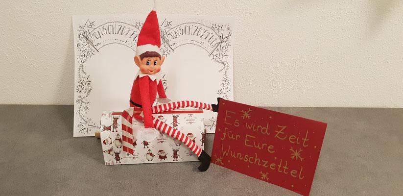 11.12. - Es wird Zeit für die Wunschzettel an den Weihnachtsmann