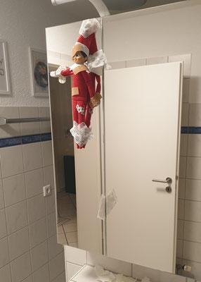 Da ist etwas im Bad wohl schief gelaufen