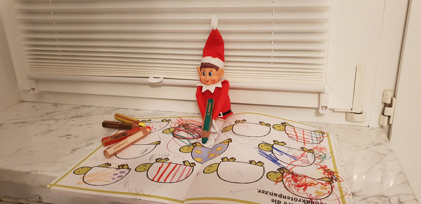 01.12. - Bobby scheint künstlerisch begabt zu sein