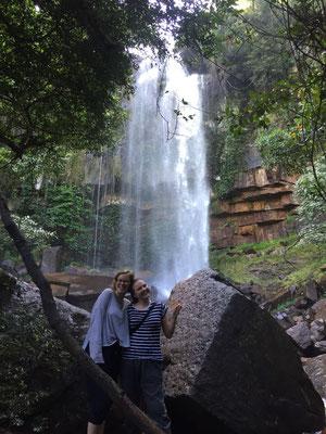 Maria und ich am Herzen Chamboks