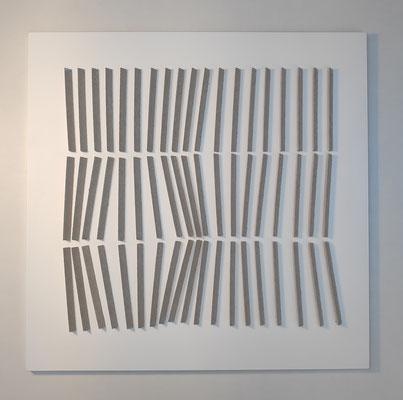 Dance 2, 50 x 50 cm,  Mdf en spuitverf