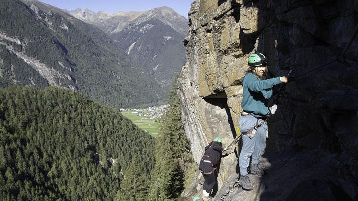 Klettersteig Umhausen : Klettersteig in umhausen bergführerbüro reutte tirol