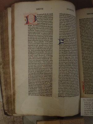 Seite der Rafflenboelschen Familienbibel