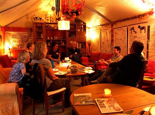 Osterseminar - die Teilnehmer stellen sich vor