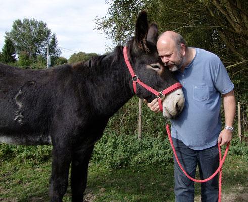 Esel-Projekt Teilnehmer mit Léon