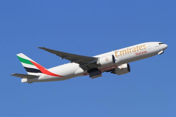 FRA 25.03.2012; A6-EFG Boeing 777-200F Emirates