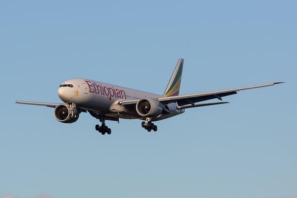 FRA 17.2.2014; ET-ANQ; Ethiopian Boeing 777-260LR