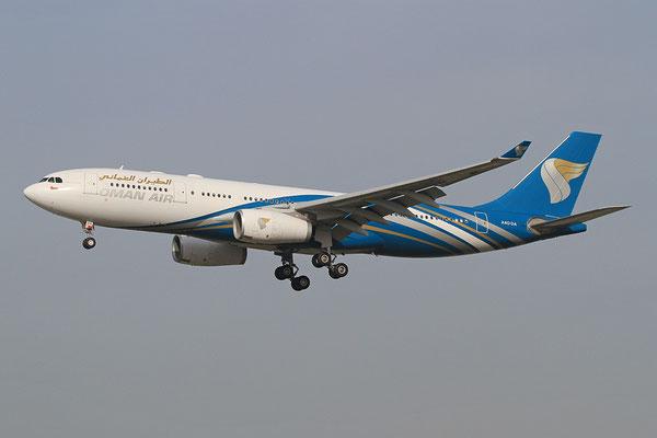 FRA 20.10.2012; A4O-DA Airbus A 330-200 Oman Air