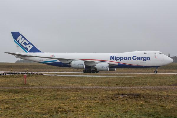 EDFH, 23.03.2016; JA14KZ, Boeing 747-8KZF, Nippon Air Cargo