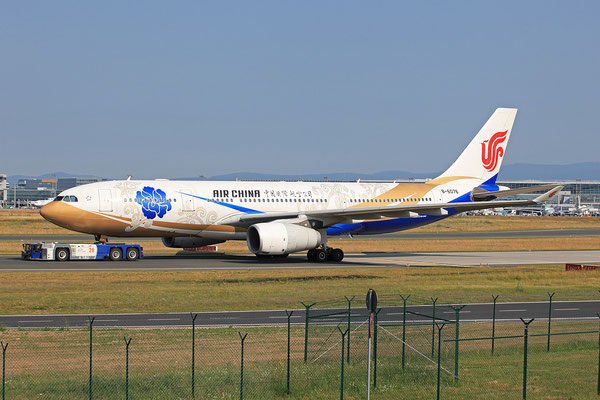 07.07.2013; B-6076, Airbus A 330-243 der Air China