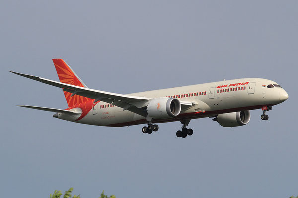 02.06.2013; VT-ANK, Boeing 787-8 der Air India