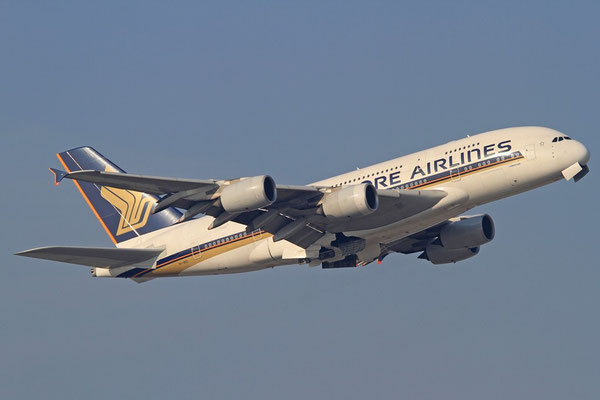 FRA 31.01.2012; 9V-SKD Airbus A 380 Singapore Airlines