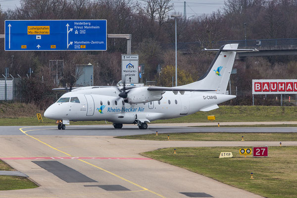 EDFM 17.02.2016; D-CMHB Dornier DO328; MHS Aviation für Rhein Neckar Air