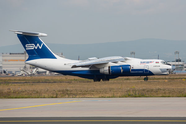 FRA 25.06.2015; 4K-AZ100; Iljushin IL-76TD-90; Silkway Ailrines