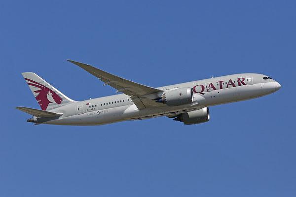 07.07.2013; A7-BCA, Boeing 787-8 der Qatar Airways