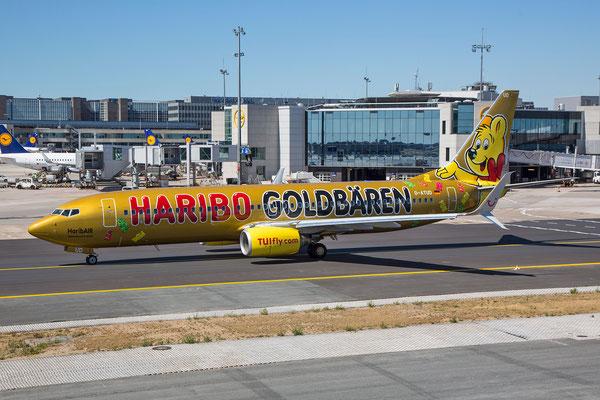 FRA 10.07.2015: D-ATUD, Boeing 737-8K5; TUIfly (neu mit Scimitar Winglets)