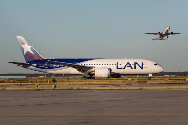 FRA 10.07.2015: CC-BBF; Boeing 787-8; LAN Chile