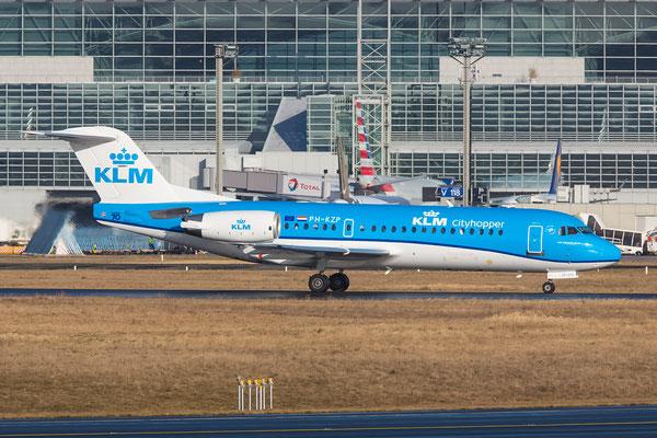 FRA 03.03.2015; PH-KZB; Fokker 70 KLM new-cs.
