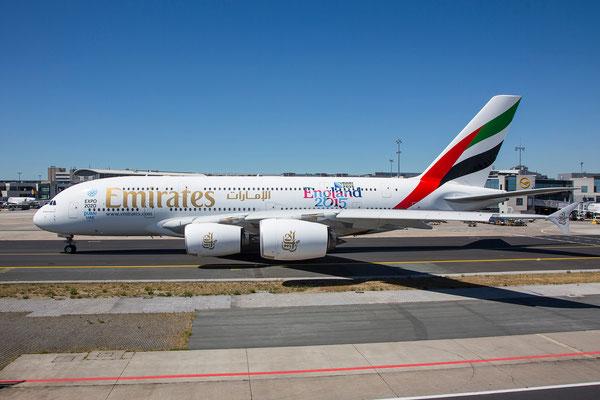 FRA 10.07.2015: A6-EEG; A380-861; Emirates
