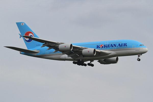 02.06.2013; HL7614, Airbus A 380-861 der Korean Air