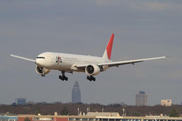 FRA 06.03.2012; JA737J Boeing 777-300ER Japan Airlines