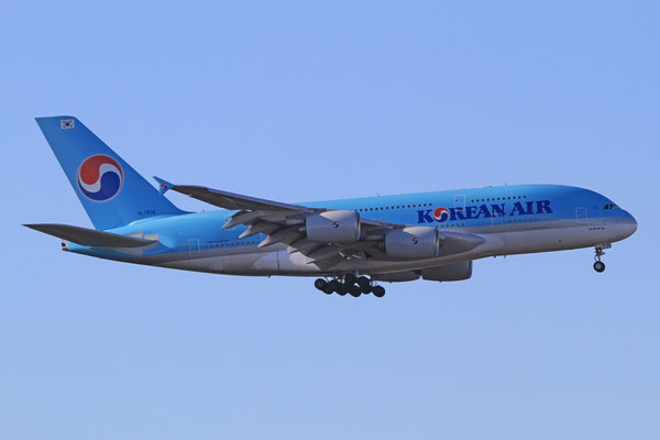 FRA 25.03.2012; HL7614 Airbus A 380-800 Korean Airlines Erstlandung