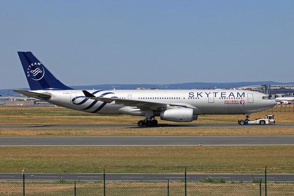 07.07.2013; B-6538, Airbus A 330-243 der China Eastern