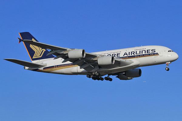 FRA 28.10.2012; 9V-SKJ Airbus A 380-800 Singapore Airlines