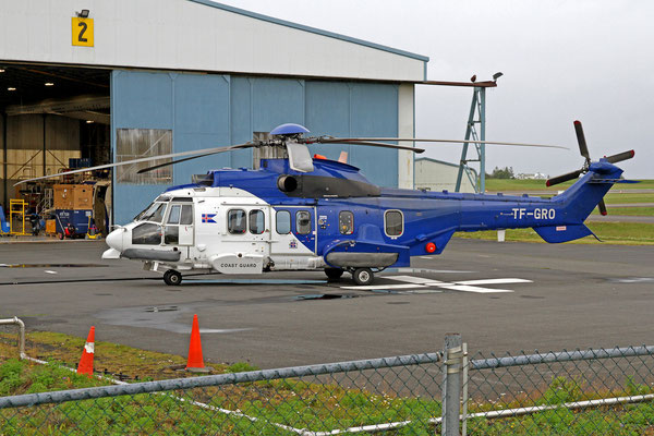 Landhelgisgæslan (Icelandic Coast Guard) Eurocopter EC-225LP TF-GRO, RKV, 10. August 2020