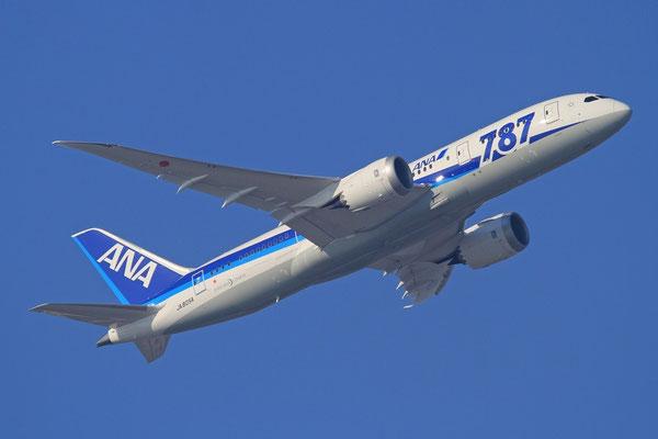 FRA 01.02.2012; JA805A Boeing 787 All Nippon Airways