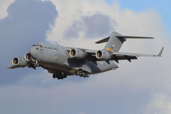 RMS 19.01.2012; 01-0195 Boeing C-17A (437 AMW, Charleston AFB)