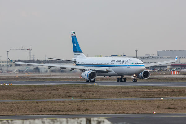 FRA 18.02.2016; 9K-APC, Kuwait Airways Airbus A330-243