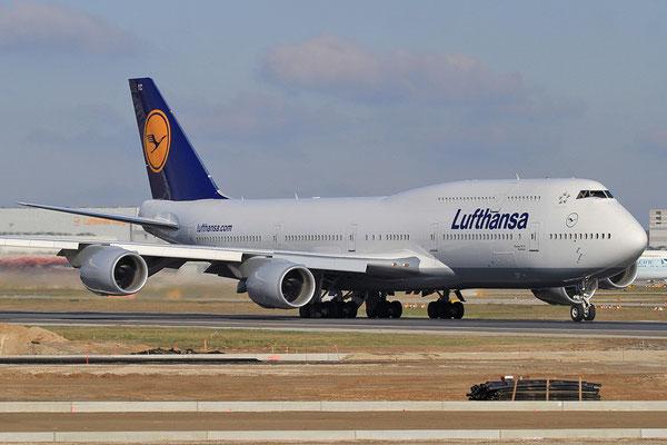 FRA 28.10.2012; D-ABYC Boeing 747-800 Lufthansa