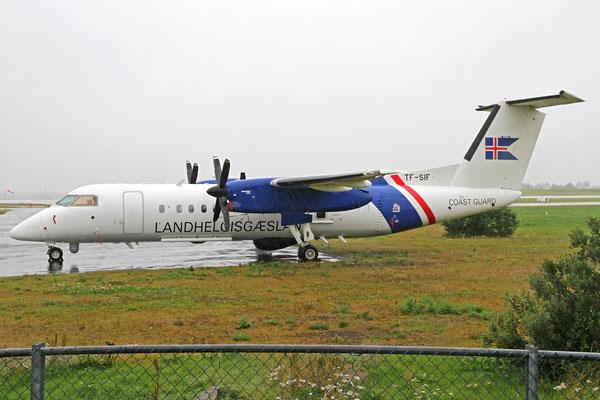 Landhelgisgæslan (Icelandic Coast Guard) DeHavilland DHC-8-314Q MPA TF-SIF, RKV, 13. August 2020
