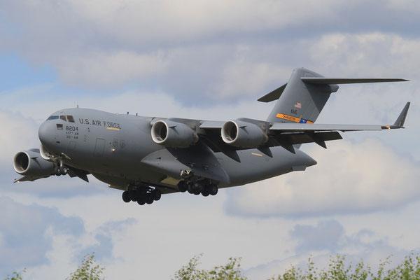 RMS 29.07.2012; 08-8204 Boeing C-17A (437th AMW,Charleston AFB)