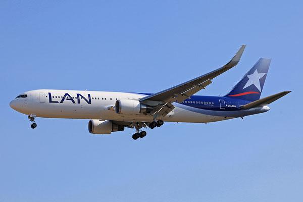 07.07.2013; CC-BDH, Boeing 767-316ER der LAN