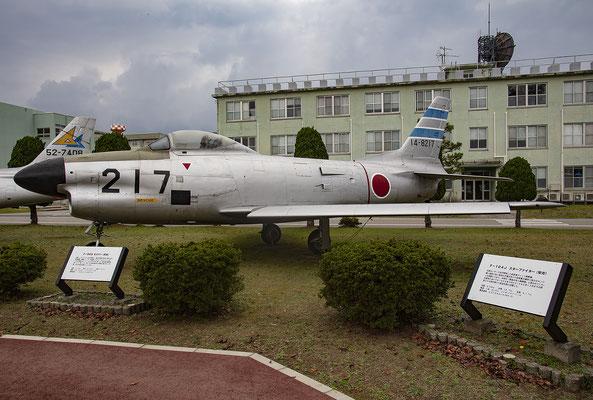 Die F-86D war der erste Allwetterjäger der japanischen Luftwaffe.