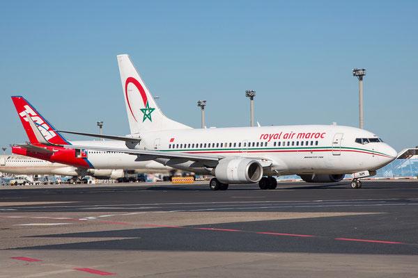 FRA 10.07.2015: CN-RNM, Boeing 737-7B6; Royal Air Maroc