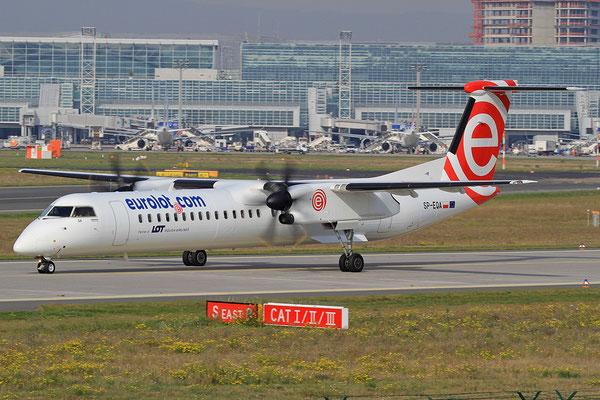 FRA 20.10.2012; SP-EQA Dash 8-Q400 Eurolot