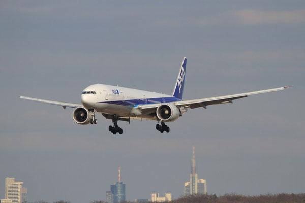 FRA 06.03.2012; JA732A Boeing 777-300ER All Nippon Airlines