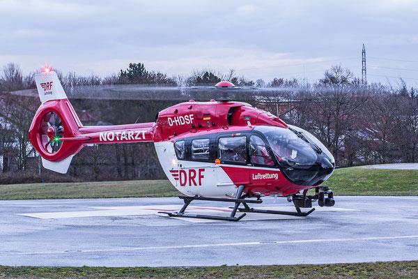 BG Unfallklinik Ludwigshafen 04.01.2016; D-HDSF Airbus H145 T2+ DRF