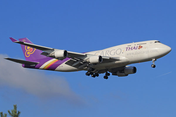 FRA 28.10.2012; HS-TGH Boeing 747-400BCF Thai Airways